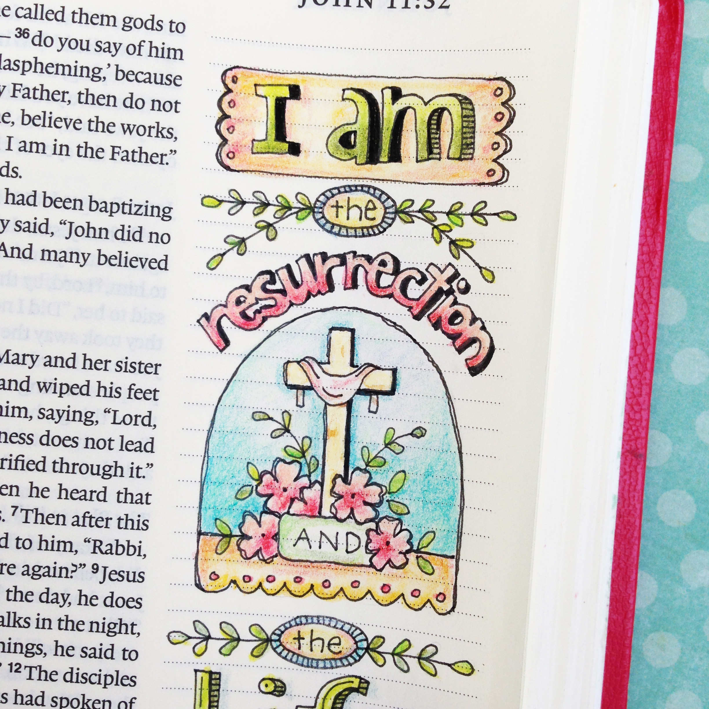 Four Easter Verses for Bible Journaling…