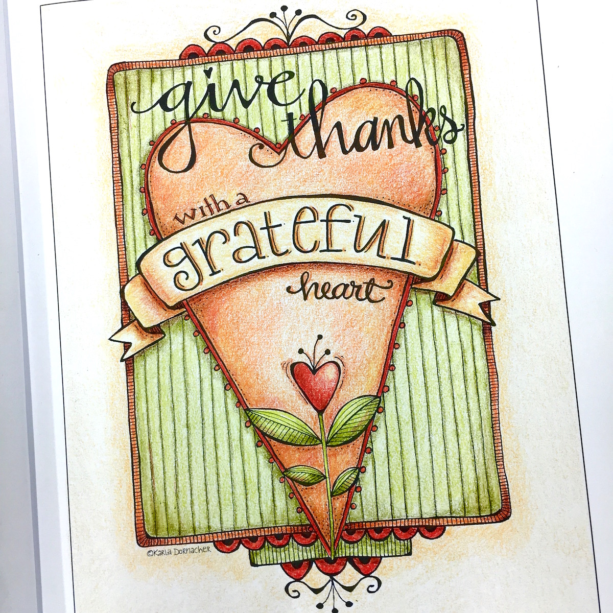 Give Thanks with a Grateful Heart…